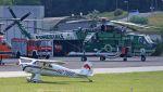 C.Hiranoさんが、Albenga Airport Italy / LIMGで撮影したItaly - Forestale S-64 Skycraneの航空フォト(写真)