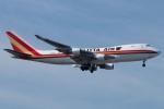(`・ω・´)さんが、横田基地で撮影したカリッタ エア 747SR-46の航空フォト(写真)