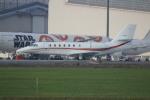 resocha747さんが、成田国際空港で撮影した朝日航洋 680 Citation Sovereignの航空フォト(写真)