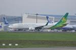 resocha747さんが、成田国際空港で撮影した春秋航空日本 737-8ALの航空フォト(写真)