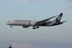 resocha747さんが、成田国際空港で撮影したニュージーランド航空 787-9の航空フォト(写真)