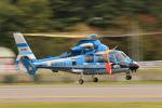 Assk5338さんが、松本空港で撮影した長野県警察 AS365N3 Dauphin 2の航空フォト(写真)