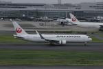 resocha747さんが、羽田空港で撮影した日本航空 767-346/ERの航空フォト(写真)