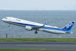 Spot KEIHINさんが、羽田空港で撮影した全日空 A321-272Nの航空フォト(写真)