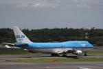 hiroki-JA8674さんが、成田国際空港で撮影したKLMオランダ航空 747-406Mの航空フォト(写真)