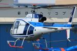 だびでさんが、東京ヘリポートで撮影した中日本航空 AS350B3 Ecureuilの航空フォト(写真)
