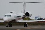 banshee02さんが、羽田空港で撮影したエグゼクジェット・ヨーロッパ G500/G550 (G-V)の航空フォト(写真)