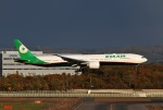 higaponさんが、新千歳空港で撮影したエバー航空 777-36N/ERの航空フォト(写真)