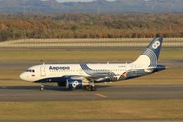 VIPERさんが、新千歳空港で撮影したオーロラ A319-111の航空フォト(写真)