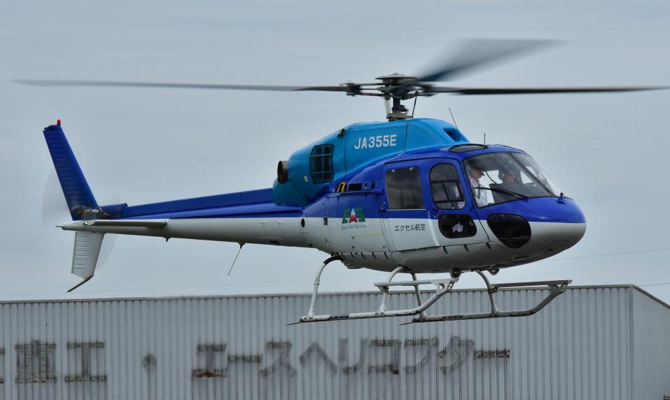 Soraya_Projectさんの日本法人所有 Eurocopter AS355 Ecureuil 2/TwinStar (JA355E) 航空フォト