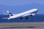 yabyanさんが、中部国際空港で撮影したキャセイパシフィック航空 777-267の航空フォト(写真)