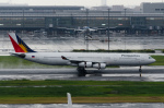 ぎんじろーさんが、羽田空港で撮影したフィリピン航空 A340-313Xの航空フォト(写真)