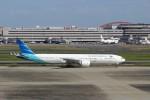 ハム太郎さんが、羽田空港で撮影したガルーダ・インドネシア航空 777-3U3/ERの航空フォト(写真)