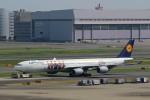 ハム太郎さんが、羽田空港で撮影したルフトハンザドイツ航空 A340-642Xの航空フォト(写真)