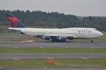 amagoさんが、成田国際空港で撮影したデルタ航空 747-451の航空フォト(写真)