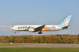 Cimarronさんが、帯広空港で撮影したAIR DO 767-381の航空フォト(飛行機 写真・画像)