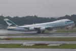 JA882Aさんが、成田国際空港で撮影したキャセイパシフィック航空 747-867F/SCDの航空フォト(写真)