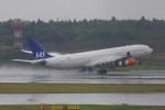 JA882Aさんが、成田国際空港で撮影したスカンジナビア航空 A340-313Xの航空フォト(写真)