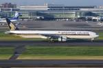 JA882Aさんが、羽田空港で撮影したシンガポール航空 777-312/ERの航空フォト(写真)