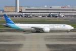 JA882Aさんが、羽田空港で撮影したガルーダ・インドネシア航空 777-3U3/ERの航空フォト(写真)