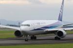 ゆういちさんが、鹿児島空港で撮影した全日空 767-381の航空フォト(写真)