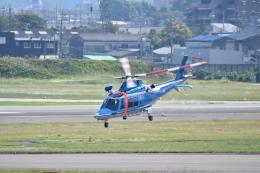 ja0hleさんが、名古屋飛行場で撮影した神奈川県警察 AW109SPの航空フォト(飛行機 写真・画像)