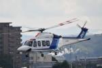 ja0hleさんが、名古屋飛行場で撮影したオールニッポンヘリコプター AW139の航空フォト(写真)