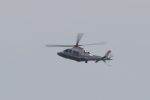 多楽さんが、茨城空港で撮影した朝日新聞社 AW169の航空フォト(写真)