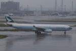 やつはしさんが、羽田空港で撮影したキャセイパシフィック航空 A330-343Xの航空フォト(写真)