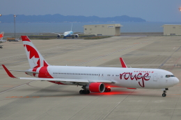 じゃりんこさんが、中部国際空港で撮影したエア・カナダ・ルージュ 767-33A/ERの航空フォト(写真)