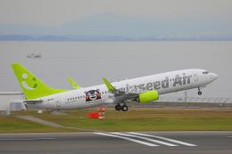 じゃりんこさんが、中部国際空港で撮影したソラシド エア 737-86Nの航空フォト(写真)