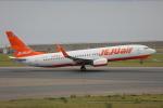 じゃりんこさんが、中部国際空港で撮影したチェジュ航空 737-8ASの航空フォト(写真)