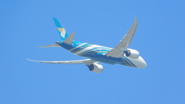 Kilo Indiaさんが、スワンナプーム国際空港で撮影したオマーン航空 787-8 Dreamlinerの航空フォト(飛行機 写真・画像)
