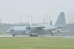 じゃまちゃんさんが、厚木飛行場で撮影したアメリカ海軍 KC-130T Herculesの航空フォト(写真)