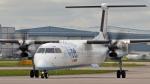 flytaka78さんが、マンチェスター空港で撮影したフライビー DHC-8-402Q Dash 8の航空フォト(写真)