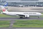 yugoさんが、羽田空港で撮影した日本航空 777-246の航空フォト(写真)