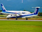 ザキヤマさんが、熊本空港で撮影したANAウイングス DHC-8-402Q Dash 8の航空フォト(写真)