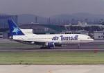 くまのんさんが、名古屋飛行場で撮影したエア・トランザット L-1011-385-3 TriStar 500の航空フォト(写真)