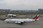 ハム太郎さんが、羽田空港で撮影したフィリピン航空 A340-313Xの航空フォト(写真)