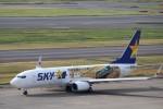 ハム太郎さんが、羽田空港で撮影したスカイマーク 737-86Nの航空フォト(写真)