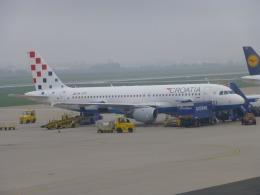 ケーキさんが、ザグレブ空港で撮影したクロアチア航空 A320-212の航空フォト(飛行機 写真・画像)