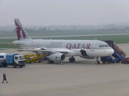 ケーキさんが、ザグレブ空港で撮影したカタール航空 A320-232の航空フォト(飛行機 写真・画像)