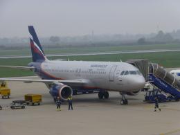 ケーキさんが、ザグレブ空港で撮影したアエロフロート・ロシア航空 A320-214の航空フォト(飛行機 写真・画像)