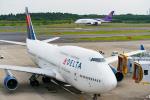 きゅうさんが、成田国際空港で撮影したデルタ航空 747-451の航空フォト(写真)