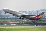 こじゆきさんが、金浦国際空港で撮影したアシアナ航空 767-38Eの航空フォト(写真)