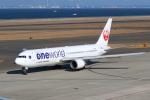 beeさんが、中部国際空港で撮影した日本航空 767-346/ERの航空フォト(写真)