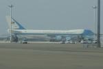 やまっちさんが、中部国際空港で撮影したアメリカ空軍 VC-25A (747-2G4B)の航空フォト(写真)