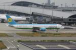 職業旅人さんが、関西国際空港で撮影したウズベキスタン航空 757-23Pの航空フォト(写真)