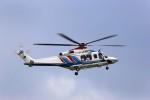 T.Sazenさんが、名古屋飛行場で撮影した三重県防災航空隊 AW139の航空フォト(写真)
