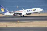 MA~RUさんが、羽田空港で撮影したスカイマーク 737-86Nの航空フォト(写真)